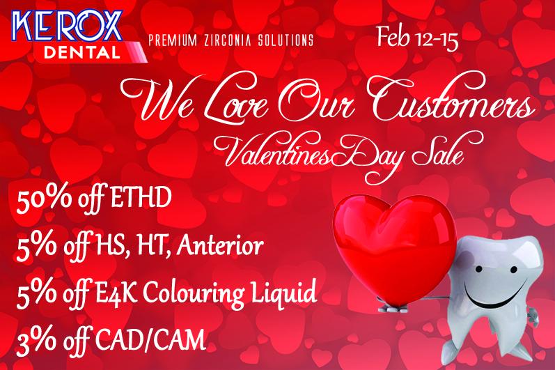 Valentines Sale 2016