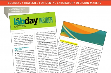 LMT Lab Day East 2016 Insider: Kerox Dental Previewed Its New Line Of Dipping Liquids, Effects & Markers