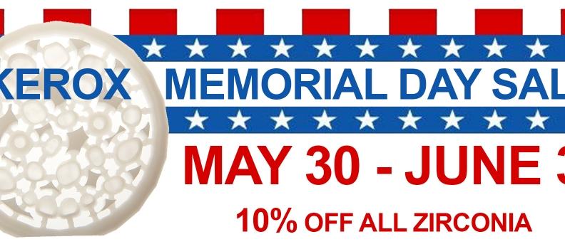 Kerox Memorial Day Sale !!